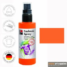 Marabu 100ml Fashion Spray Red Orange 023