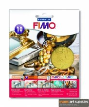 Fimo Leaf Metal Gold 10s