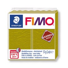 FIMO Leather EFFECT 56G Olive