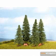 Fir Trees, 4 pieces, 8-12cm
