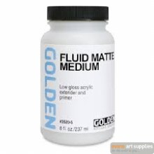 Fluid Matte Medium 473ml