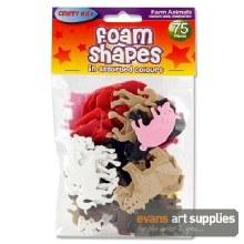 Foam Stickers Farm Animals 75s