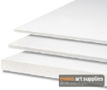A1 Foamboard 3mm White (Min 3 Sheets)