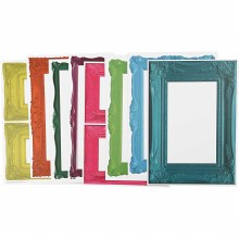 Frames 16 mixed Sheets in Bold Colours