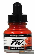 FW INK 29.5ML FLAME ORANGE