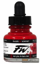 FW INK 29.5ML FLAME RED