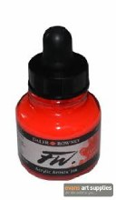 FW INK 29.5ML FLUORESCENT RED