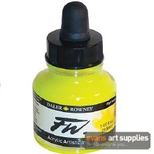 FW INK 29.5ML FLUORESCENT YELLOW