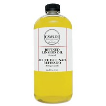 Gamblin Refined Linseed Oil - 1L