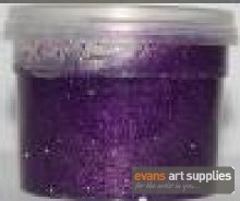 Glitter Paint 100ml Purple