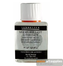 Glossy painting varnish>75 ml