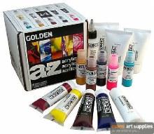 Golden A-Z Acrylics Starter 14