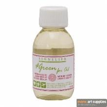 Sennelier Green for Oil - Eco-Friendly Liquid Medium 100ml