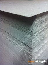 Light Grey Chipboard 750gsm (Min 10 Sheets)