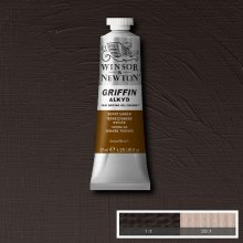 GRIFFIN ALKYD 37ML BURNT UMBER