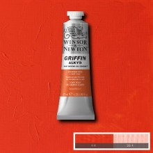 GRIFFIN ALKYD 37ML CAD RED LIGHT HUE