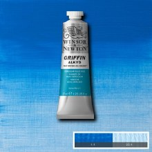 GRIFFIN ALKYD 37ML CERULEAN BLUE HUE