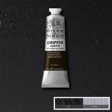 GRIFFIN ALKYD 37ML IVORY BLACK