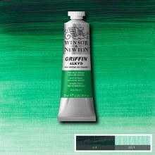GRIFFIN ALKYD 37ML PHTHALO GREEN YELLOW