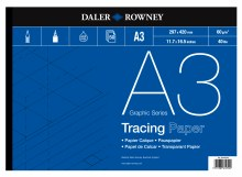 Daler Rowney Tracing Pad A3 60gsm