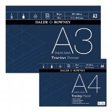 Daler Rowney Tracing Pad A4 90gsm