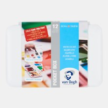 Van Gogh Watercolour Pocket Set 12HP + 3