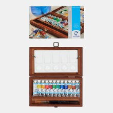 Van Gogh Wooden Watercolour Box 12 x 10ml