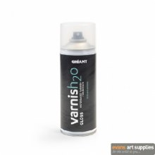 Ghiant H2O 400ml Gloss Varnish