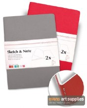 Sketch & Note A5 Grey/Pink