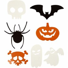 Halloween Cut Outs 50s