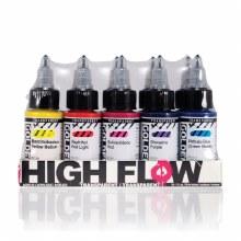 Golden High-Flow Set of 10 - Transparent Colours