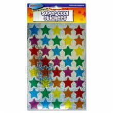 Hollographic Coloured Star*