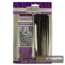 Icon Charcoal Set in Tin