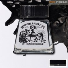 WINSOR & NEWTON INK 14ML BLACK