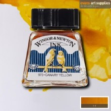 WINSOR & NEWTON INK 14ML CANARY YELLOW