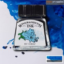 WINSOR & NEWTON INK 14ML COBALT