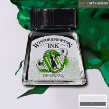 WINSOR & NEWTON INK 14ML EMERALD