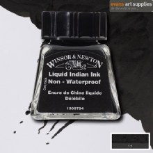 WINSOR & NEWTON INK 14ML LIQUID INDIAN INK