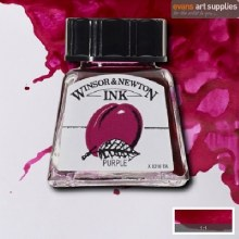 WINSOR & NEWTON INK 14ML PURPLE
