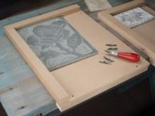 Lino Bench Hook 300x400mm