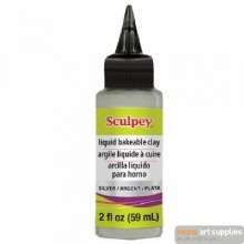 Liquid Sculpey Silver 59ml