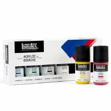 Liquitex Acrylic Gouache Primary Set 6x22ml