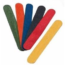 Lollipop Sticks Jumbo Coloured