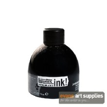 LIQUITEX 150ML INK CARBON BLACK