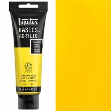 LIQUITEX BASIC 118ML TRANSPARENT YELLOW