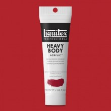 LIQUITEX HEAVY BODY 59ML QUINACRIDONE CRIMSON