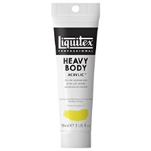 LIQUITEX HEAVY BODY 59ML YELLOW MEDIUM AZO