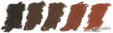 Lrg soft pastel>Hot Brown 190