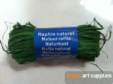 Maildor Natural Raffia Green