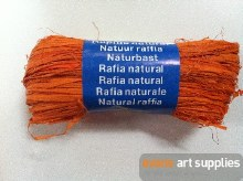 Maildor Natural Raffia Orange